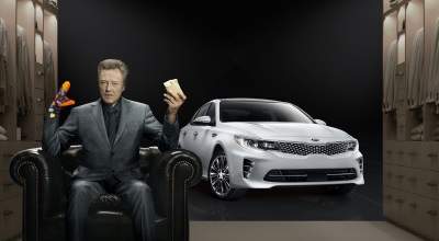 CHRISTOPHER WALKEN ADDS 'PIZZAZZ' TO KIA MOTORS' SUPER BOWL COMMERCIAL FOR THE ALL-NEW OPTIMA MIDSIZE SEDAN