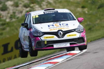 VICTORY DOUBLE FOR WHORTON-EALES AT THRUXTON AS RENAULT UK CLIO CUP TITLE RACE INTENSIFIES