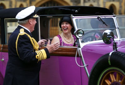 CONCOURS OF ELEGANCE 2016 CELEBRATES GLORIOUS FIRST DAY AT WINDSOR CASTLE