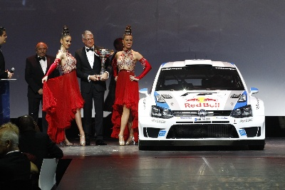GREAT HONOUR, GRAND CELEBRATION: WORLD CHAMPIONSHIP TROPHIES PRESENTED TO VOLKSWAGEN