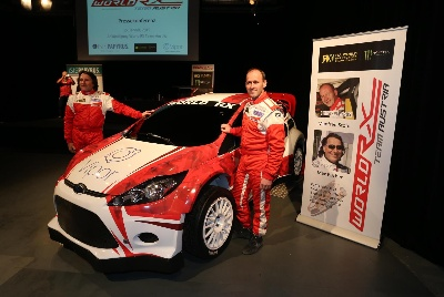 NEW WORLD CHAMPIONSHIP TEAM ENTERS WORLD RX FOR 2015