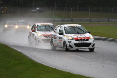 PERFECT WEEKEND FOR XAVIER COUPAL IN THE NISSAN MICRA CUP, AND U.S. GT ACADEMY WINNER NIC HAMMANN FINISHES ON THE PODIUM