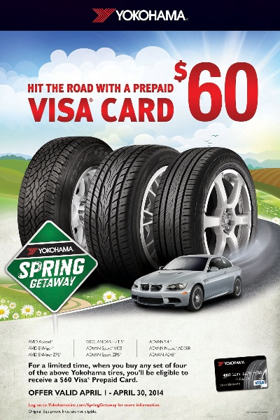 YOKOHAMA TIRE CORPORATION KICKS-OFF 'SPRING GETAWAY' CAMPAIGN