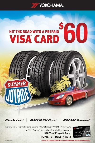 Yokohama Tire Corporation Launches'Summer Joyride' Promotion
