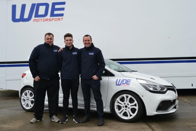 Zelos Switches To WDE Motorsport For 2017 Renault UK Clio Cup Season