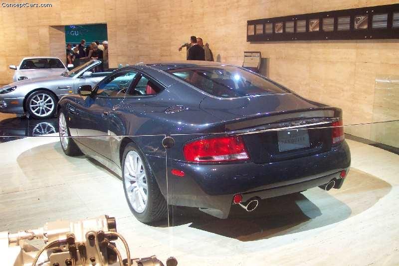 2002 Aston Martin V12 Vanquish Image