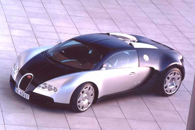Bugatti Veyron Bugatti Veyron >> 2001 Bugatti 16·4 Veyron Image