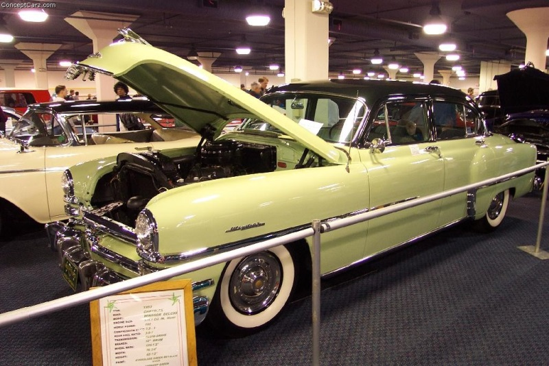 1953 Chrysler Windsor pictures and wallpaper