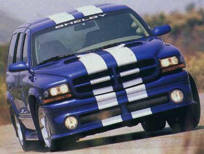 Shelby Durango on 2000 Dodge Dakota Sport Recalls