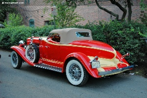 Greenwich Concours d'Elegance : American Car Display