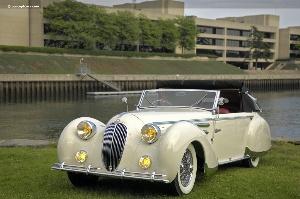 Greenwich Concours d'Elegance : European Car Display