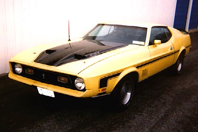 1972 Ford Mustang Boss pictures and wallpaper