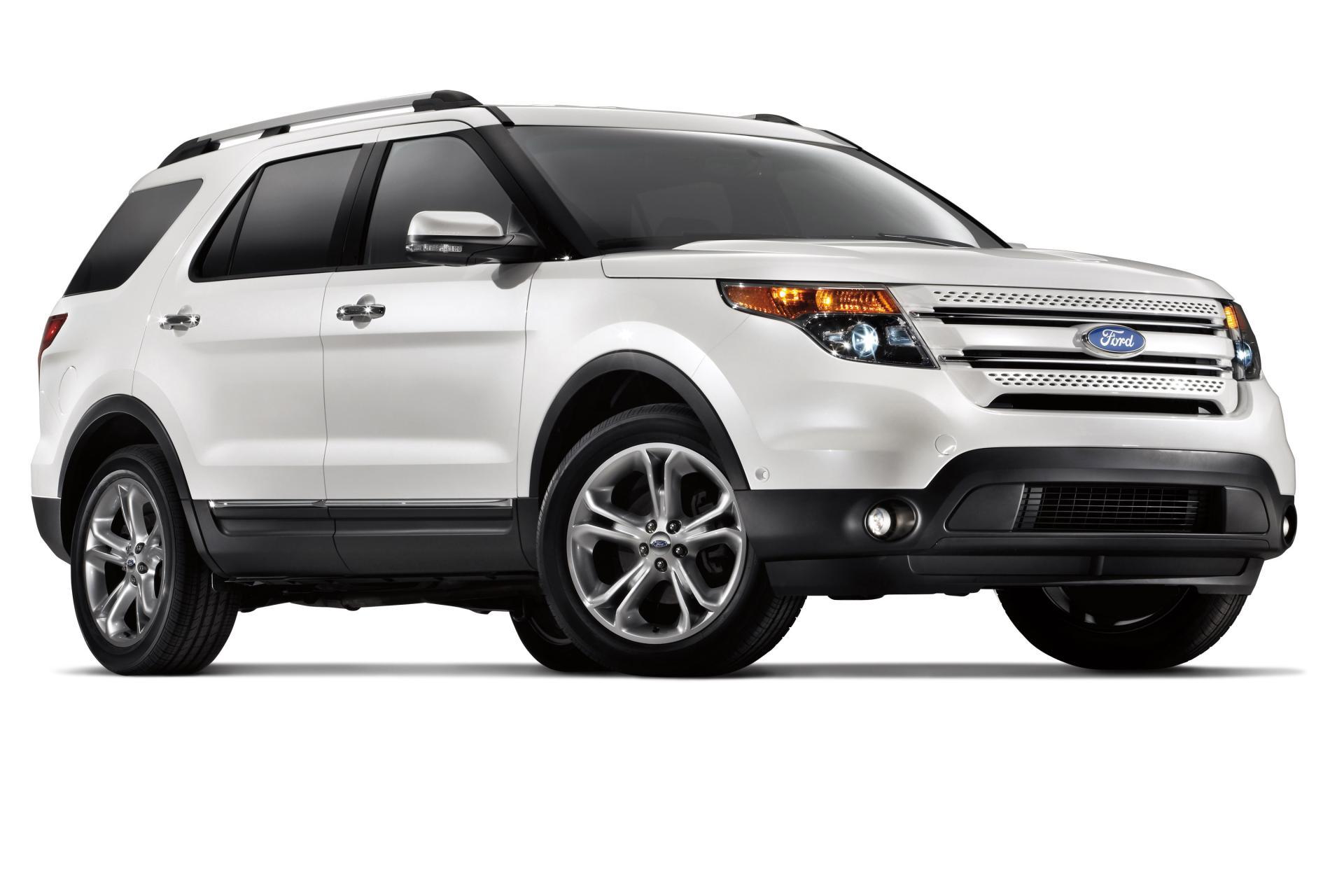 Ford Explorer Sport 2014 White Ford Explorer Suv Image