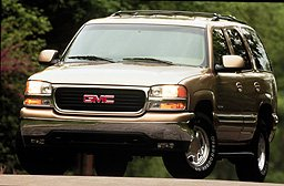 2000 GMC Yukon pictures and wallpaper