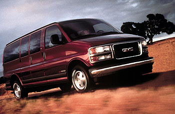 2000 GMC Savana pictures and wallpaper