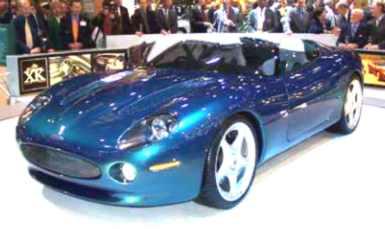 1999 Jaguar XK180 Concept Image