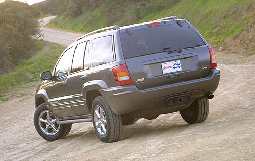 2003 Jeep Grand Cherokee Laredo Image