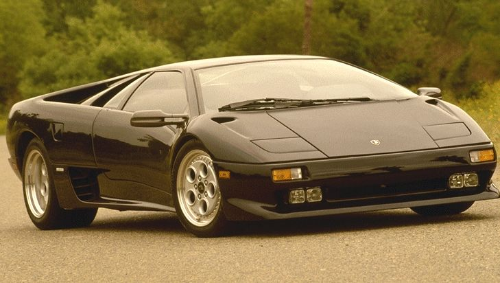 1994 Lamborghini Diablo Vt Pictures History Value