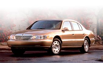 1999 lincoln continental technical specifications and data. Black Bedroom Furniture Sets. Home Design Ideas