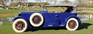 1919 Pierce-Arrow Captures Best In Show at Third Annual Pinehurst Concours d'Elegance