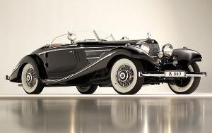 1936 Mercedes-Benz 540K von Krieger Special Roadster