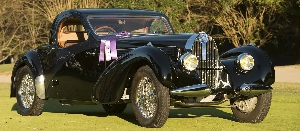 1938 BUGATTI TYPE 57C WINS 'BEST OF SHOW' AT 2014 HILTON HEAD ISLAND MOTORING FESTIVAL & CONCOURS D'ELEGANCE