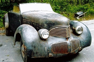 Rare 1940 Graham Hollywood Convertible Will Emerge at St. John's