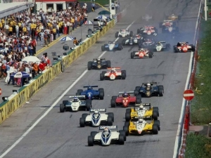 1982 Austrian Grand Prix: de Angelis Flying Through the Thin Air