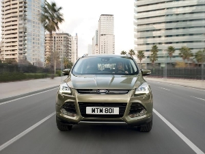 Ford's Stylish and Spacious All-New Kuga Makes European Debut at 2012 Geneva Motor Show