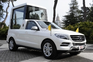 New Popemobile from Mercedes-Benz for Pope Benedict XVI