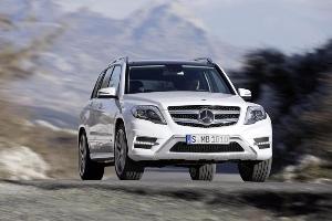 Restyled Mercedes-Benz GLK-Class