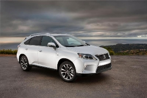 2013 Lexus RX 350 F SPORT Makes North American Debut at NYIAS