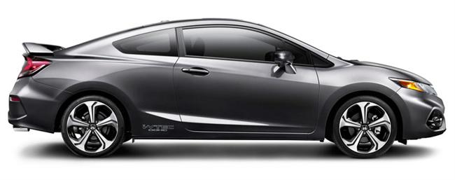 2014 Civic SI Ups The Ante With More Power, Higher Tech And Sportier Coupe Styling