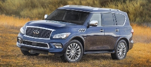 2015 Infiniti QX80 receives updated appearance, interior enhancements for new model year