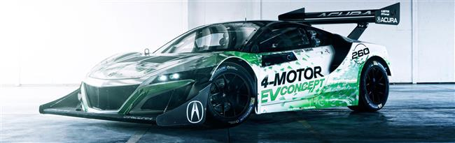 Acura NSX-Inspired EV Concept Ready to 'Charge Up' Pikes Peak