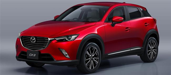 The All-new 2016 Mazda CX-3 Compact Crossover SUV