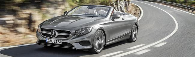 The new Mercedes-Benz S-Class Cabriolet
