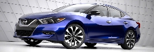 2016 Nissan Maxima Makes Global Debut at New York International Auto Show
