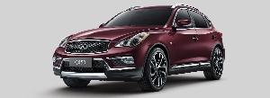 Infiniti's Pioneering Luxury Crossover Continues to Offer A Úniquely Personal Expression of Rewarding Style and Rewarding Driving