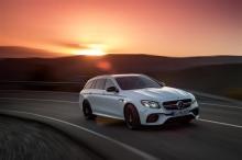The new Mercedes-AMG E63 S Wagon