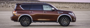 All-New 2017 Nissan Armada Designed for Full-Size Family Adventures