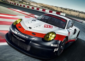 The Most Spectacular Nine-Eleven Ever: New 911 RSR For Le Mans