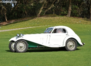 The 1938 HRG Airline Coupe