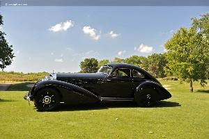 Concours d'Elegance 2011 Best of Show-European wins Louis Vuitton Classic