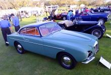 1953 Fiat Vignale Coupe by Michelotti