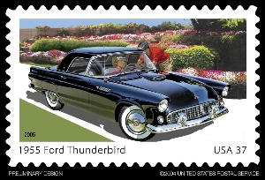 The 1955 Ford Thunderbird