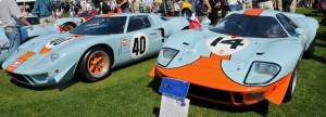 Victorious Ford GT40s Head to the Pebble Beach Concours d'Elegance this August