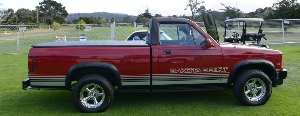 The 1989 Dodge Dakota