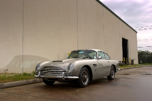 Mystery Texas collector to give Beatle George Harrison's Aston Martin DB5 its U.S. debut at the inaugural Concours d'Elegance of Texas