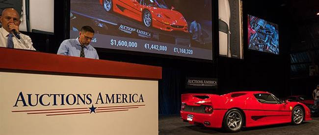 Modern Supercars Lead Auctions America's $14.2 Million Santa Monica Sale